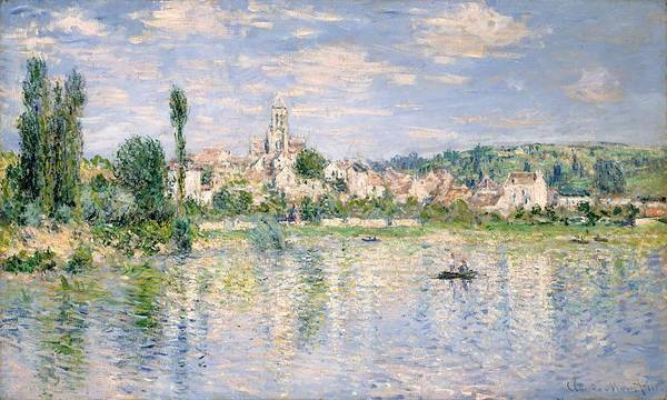 Vetheuil Wall Art - Painting - Vetheuil In Summer by Claude Monet