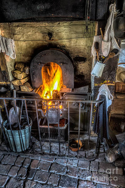 Fire Place Photograph - Victorian Range by Adrian Evans