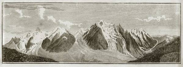 Wall Art - Photograph - View Across The Alps by Royal Institution Of Great Britain / Science Photo Library