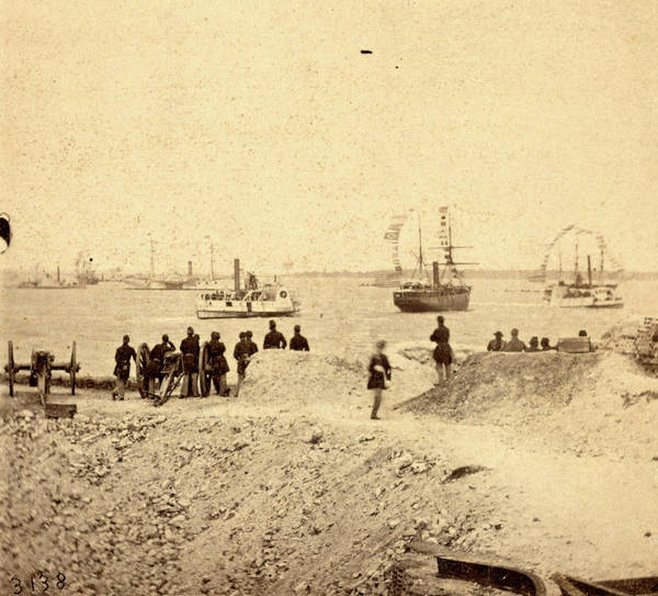 Fort Sumpter Photograph - View From The Parapet Of Fort Sumpter by Litz Collection