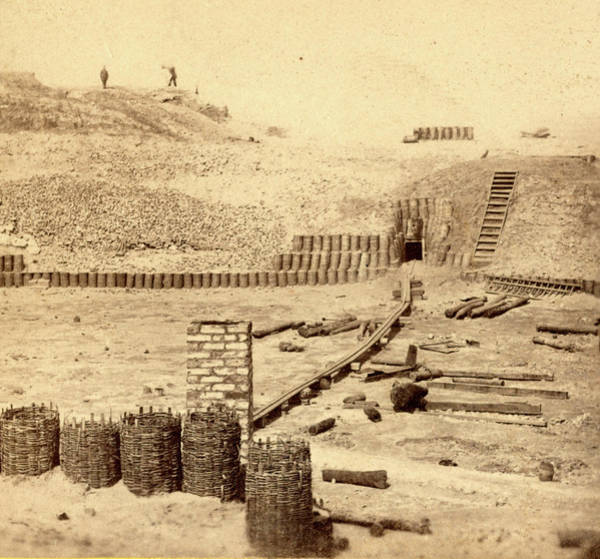 Fort Sumpter Photograph - View Of Fort Sumpter I.e. Sumter. Interior by Litz Collection