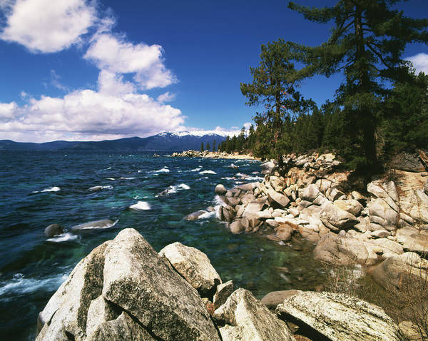 Lake Tahoe Photograph - View Of Lake Tahoe, Nevada State Park by Danita Delimont