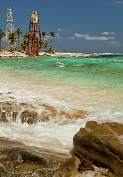 Belize Photograph - View Of Lighthouse On Half Moon Caye by Michele Benoy Westmorland