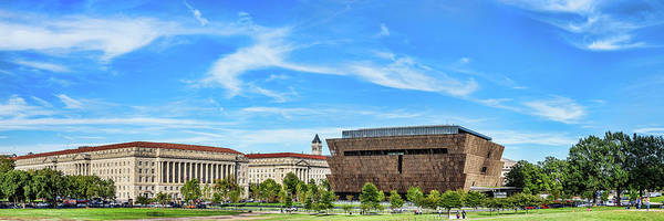 African American Museum Photograph - View Of National Museum Of African by Panoramic Images