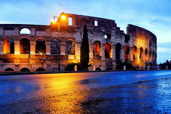 Photograph - View Of The Colosseum  by Fabrizio Troiani