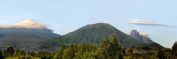 Rwanda Photograph - View Of Volcanoes, Volcanoes National by Panoramic Images