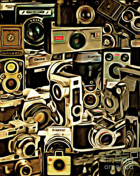 Photograph - Vintage Abstract Photography 20150208 V1 Vertical by Wingsdomain Art and Photography