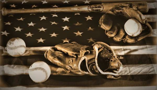 Wall Art - Photograph - Vintage Baseball by Dan Sproul