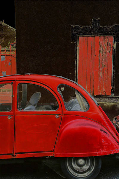 Photograph - Vintage Citroen by Andrew Fare