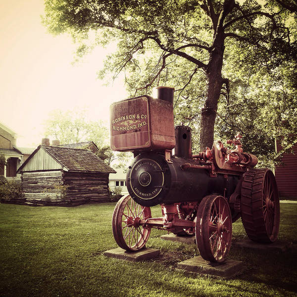 Photograph - Vintage Indy by Natasha Marco