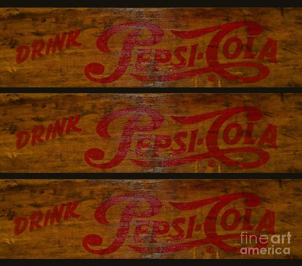 Wall Art - Photograph - Vintage Pepsi  by Paul Ward