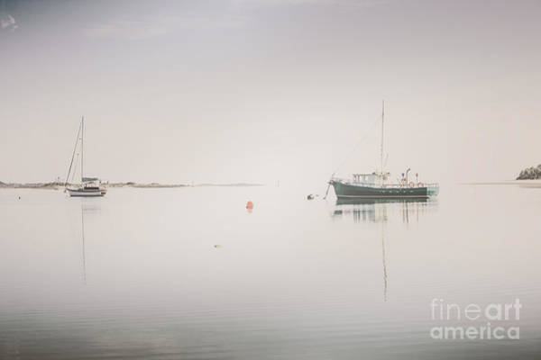 Photograph - Vintage Photo Of A Fishing Boat Anchored At Dusk by Jorgo Photography - Wall Art Gallery