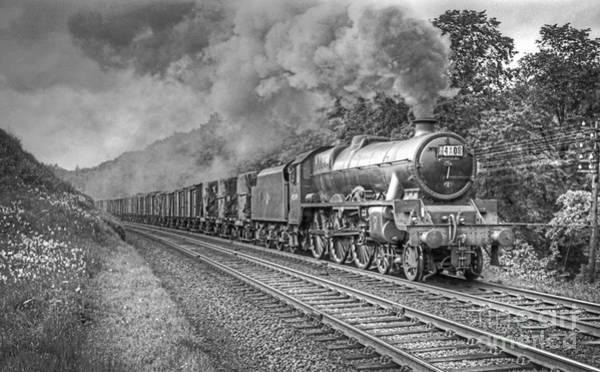 Photograph - Vintage Steam Locomotive 45599 by David Birchall