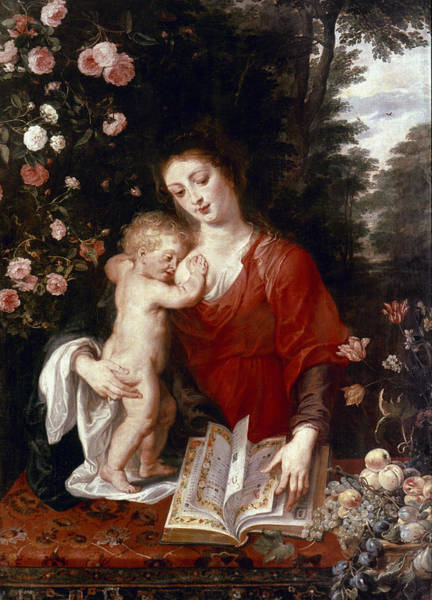 Painting - Virgin And Child by Granger