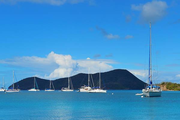 Photograph - Virgin Islands Boat by Songquan Deng