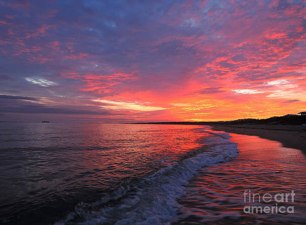 Photograph - Virginia Beach Sunrise by Jeff Breiman