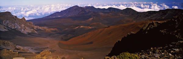 Haleakala Crater Photograph - Volcanic Crater, Haleakala, Maui, Big by Panoramic Images