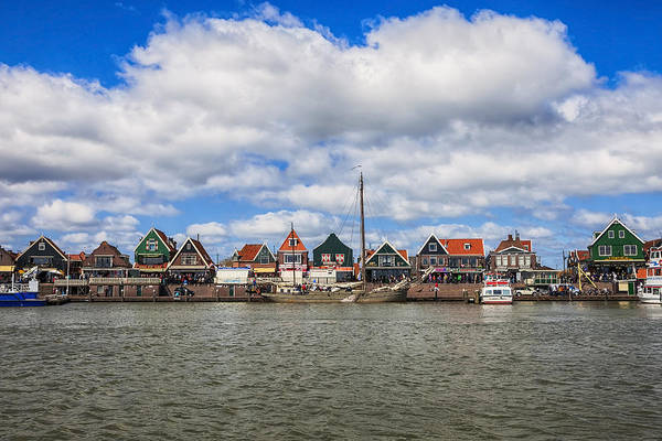 Noord Holland Wall Art - Photograph - Volendam by Joana Kruse