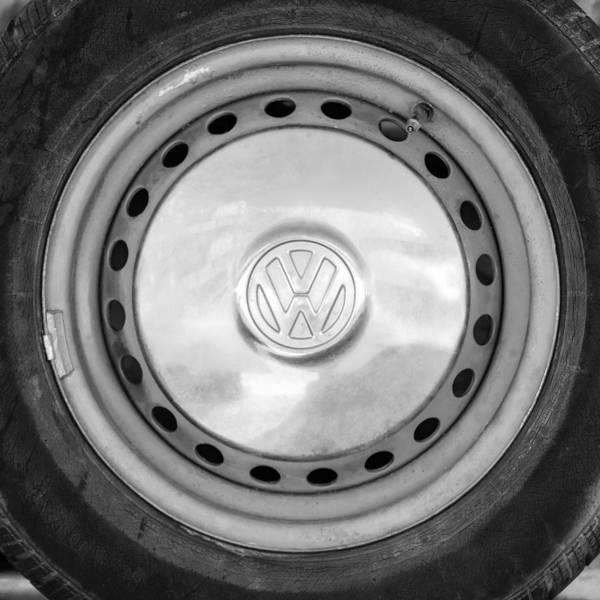 Photograph - Volkswagen Vw Wheel Emblem by Jill Reger