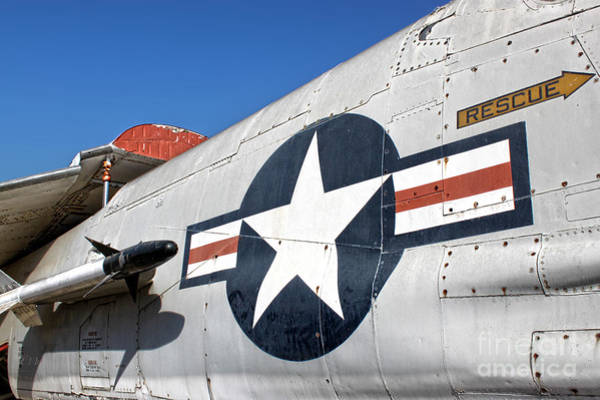 Photograph - Vought Crusader 8-u1 by Gregory Dyer