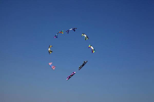 Kite Festival Wall Art - Photograph - Wa, Long Beach, International Kite by Jamie and Judy Wild