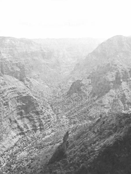 Photograph - Waiamea Canyon Kauai by Frank Wilson