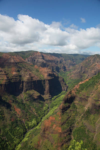 Waimea Canyon Photograph - Waimea Canyon, Kauai, Hawaii by Douglas Peebles