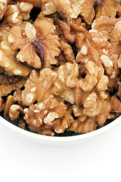 Walnut Photograph - Walnuts by Geoff Kidd/science Photo Library