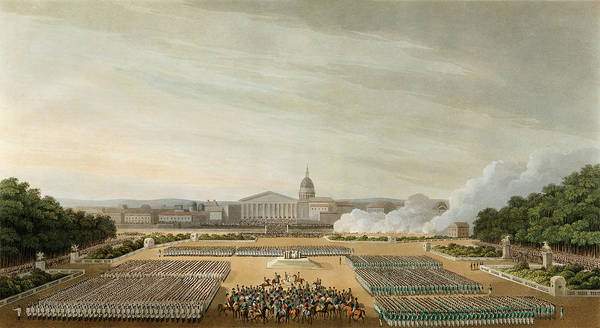 Painting - War Of The Sixth Coalition, 1814 by Granger
