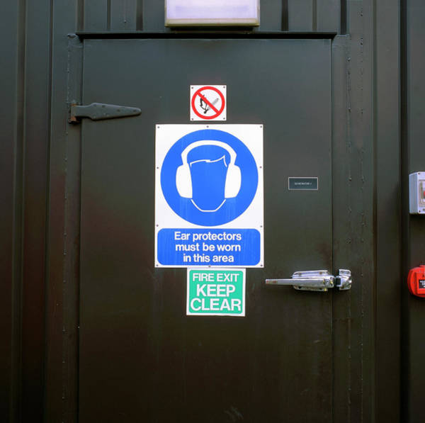 Notice Photograph - Warning Signs by Robert Brook/science Photo Library