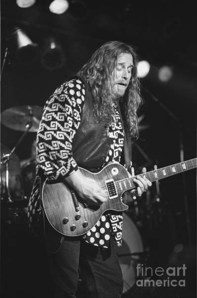 Allman Brothers Band Photograph - Warren Haines by Concert Photos