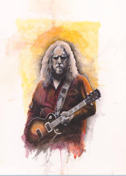 Rockstar Painting - Warren Haynes by William Walts