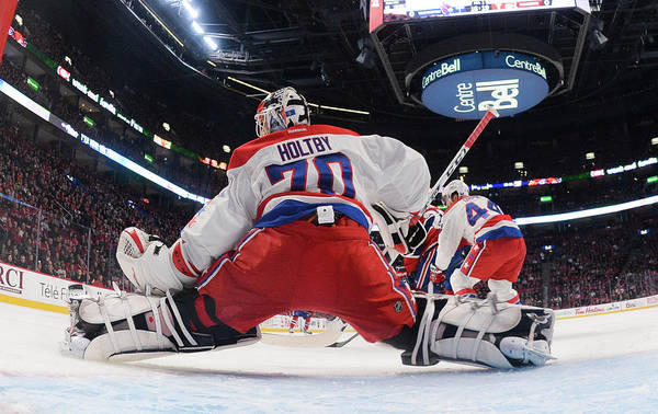 Montreal Photograph - Washington Capitals V Montreal Canadiens by Francois Lacasse