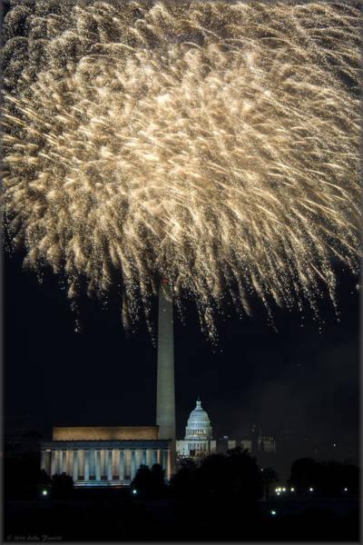 Photograph - Washington Dc Fourth 10 by Erika Fawcett