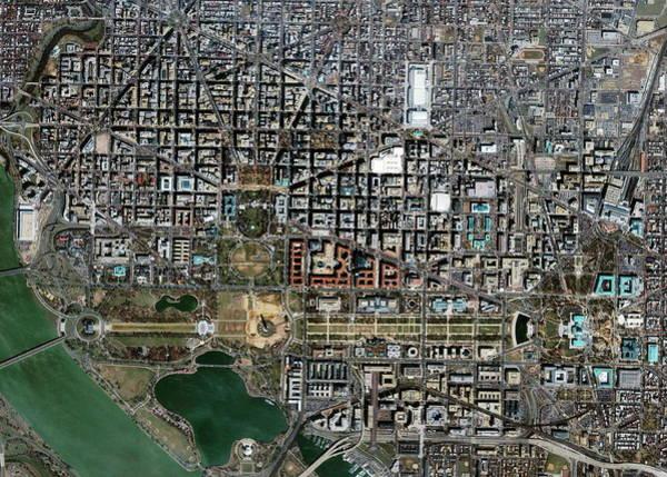 Mall Photograph - Washington Dc by Geoeye/science Photo Library