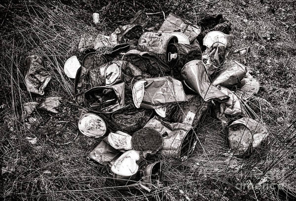 Photograph - Waste by Olivier Le Queinec