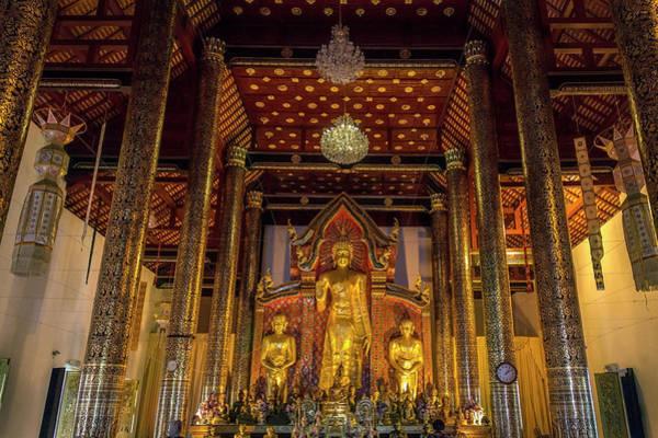 Chiang Mai Province Photograph - Wat Cheddi Luang - Chiang Mai - Thailand by Steve Allen