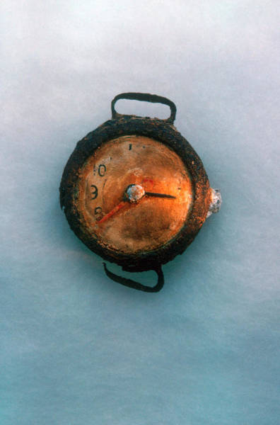 Photograph - Watch From Hiroshima by Brian Brake