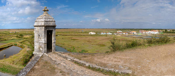 Fortification Photograph - Watchtower Of Fortifications Of Vauban by Panoramic Images