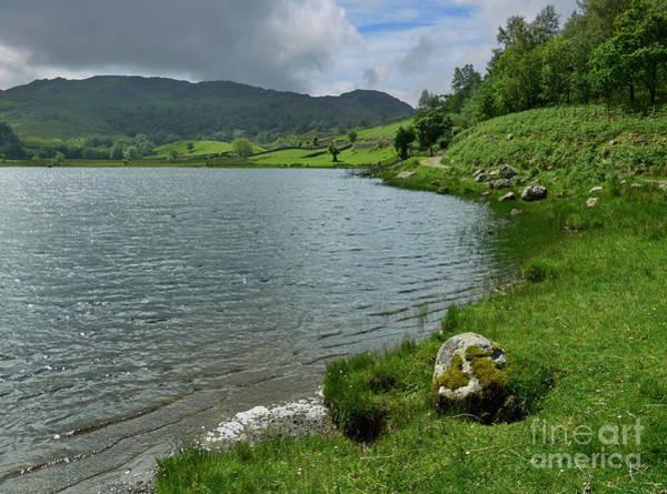 Wall Art - Photograph - Watendlath Tarn In The Lake District Cumbria by Louise Heusinkveld