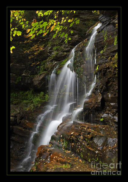 Sullivan County Photograph - Water On The Mountain by John Stephens