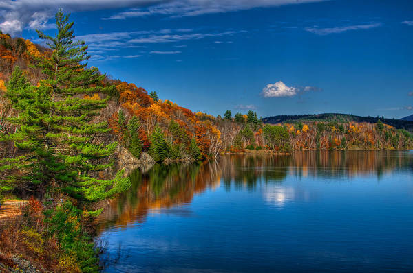 Waterbury Photograph - Waterbury Reflection by Mike Horvath