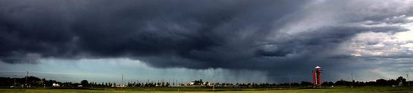 Photograph - Weak But Photographic Nebraska Storm Cell by NebraskaSC
