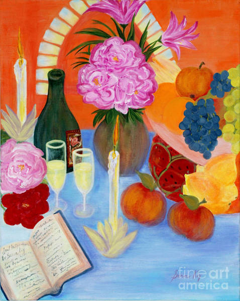 Painting - Wealth And Comfort. Soul Collection by Oksana Semenchenko