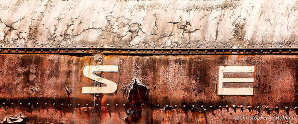 Photograph - Weathered by Christopher Holmes