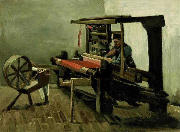 Wall Art - Painting - Weaver by Vincent van Gogh