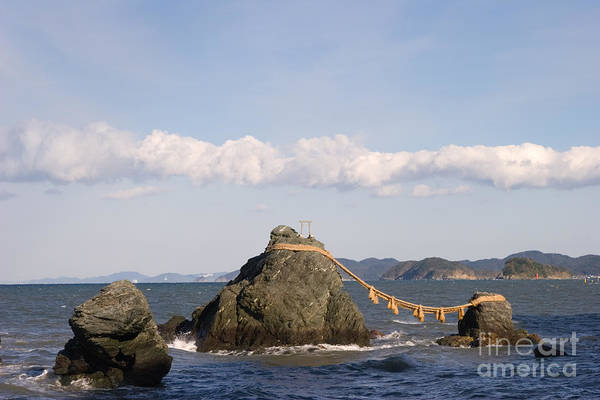 Kansai Region Wall Art - Photograph - Wedded Rocks by Ei Katsumata