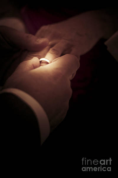 Together Forever Photograph - Wedding Rings by Jorgo Photography - Wall Art Gallery