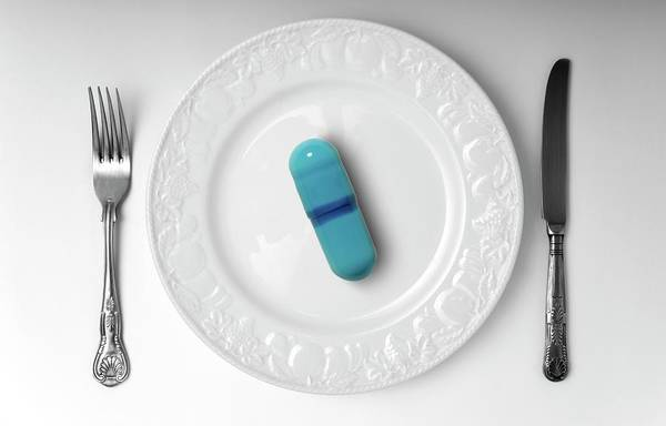 Controversial Photograph - Weight-loss Drug by Victor De Schwanberg