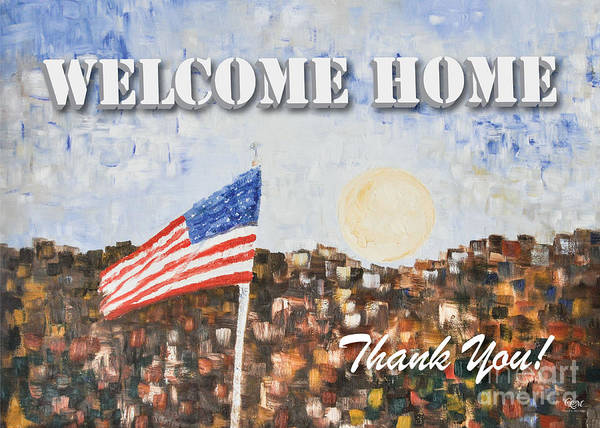 Photograph - Welcome Home by Cheryl McClure
